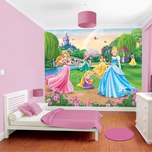 disney prinsesser tapet